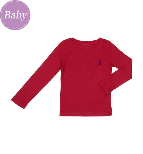 T-Shirt Small Pony - Rouge - T-Shirts et Tops - Bébé - Ralph Lauren - Mode 03d7b4ed3ade