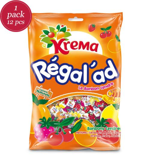 Bonbon-Tüte Krema Regal\'Ad 150 gr - 12 Packungen - Tüten - Bonbons ...